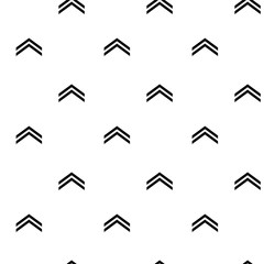 Seamless pattern with arrow up