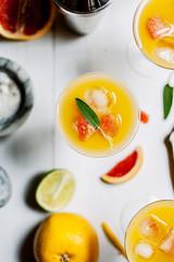 Citrus Cocktails.