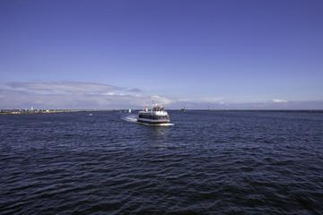 Hafen von Warnemünde an der Ostsee