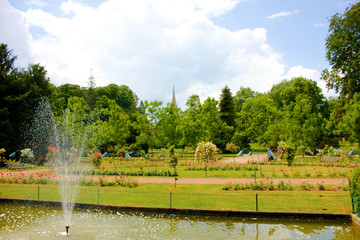parc de la pépinière à Nancy
