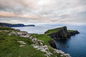 Lighthouse at Neist Point on the Isle of Skye