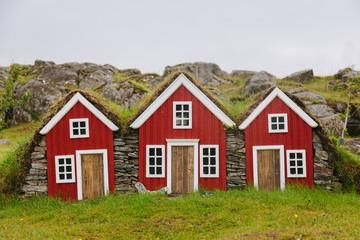Miniature Icelandic Houses