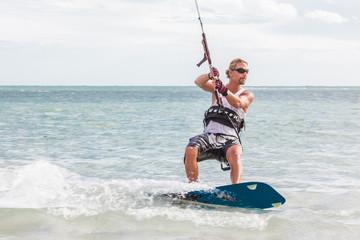Male Kite Surfer
