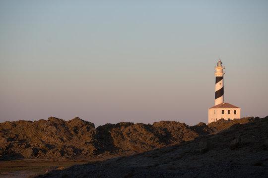 Lighthouse in Menorca, Spain