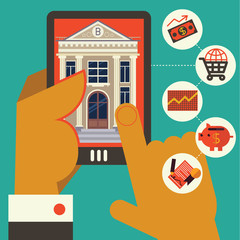 Using Online Bank with the Mobile Phone