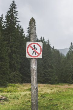Hiking banned