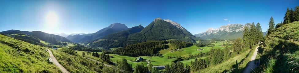 Berge Alpen Königsee Österreich Deutschland