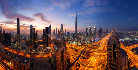 Skyline on Dubai