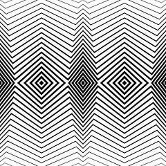 White pattern with black stripes, seamless. Vector background