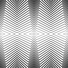 Seamless black and white pattern stripes. Vector background for design