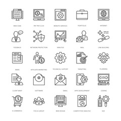 Web Design and Development Vector Icons 7