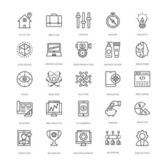 Web Design and Development Vector Icons 10