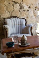 Türkischen Kaffee trinken in Kappadokien