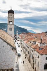 Die Altstadt von Dubrovnik in den frühen Morgenstunden