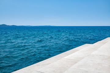 Die Meeresorgel in Zadar