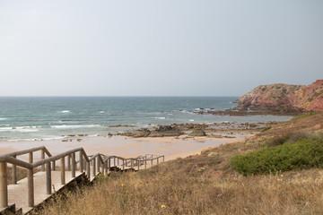 Nach dem Regen an der Algarve
