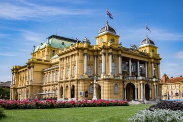 Der Kunstpavillon von Zagreb