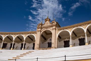 Die Stierkampfarena von Antequera