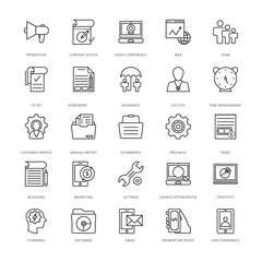 Web Design and Development Vector Icons 17