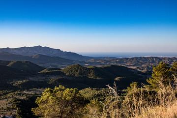 Abendstimmung in der Sierra Nevada - Spanien