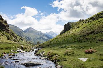Idylle in den Bergen von Andorra