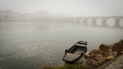 Boat on the Loire