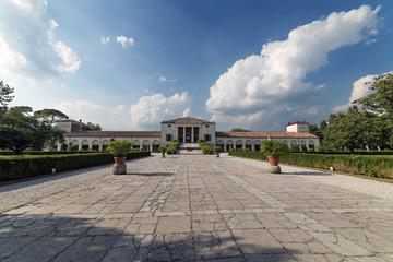 Ville Venete: Villa Emo, anno 1558 di Andrea Palladio, ingresso, Vedelago