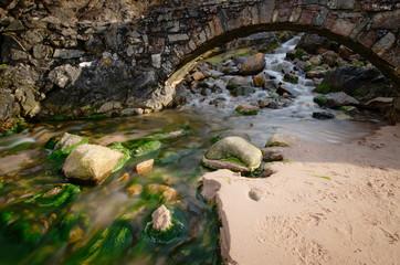 Tràigh Allt Chàilgeag Beach, North Coast of Scotland, United Kingdom