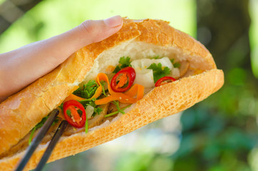 Banh Mi - most popular Vietnamese sandwich