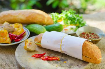 Banh Mi - most popular Vietnamese sandwich
