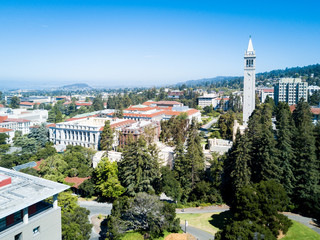 Bird's eye view of Berkely University