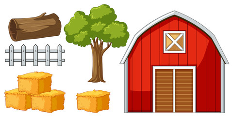 Barn and other farm items