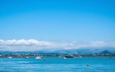 Harbour of Santander, Cantabria, Spain.
