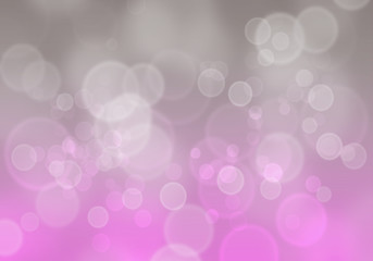 Purple and grey bubbles abstract background