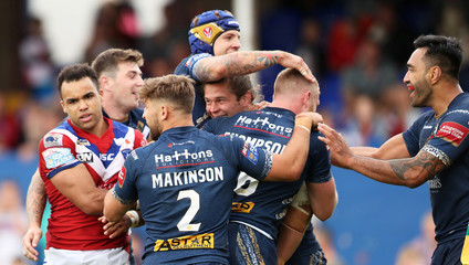 Rugby League Super League - Wakefield Trinity vs St Helens