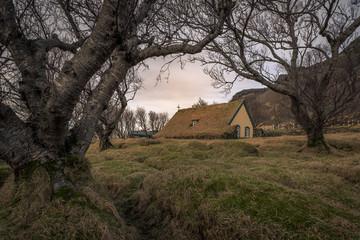 Kirche in Hof, Island