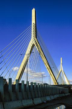 Leonard Zakim Bridge in Boston