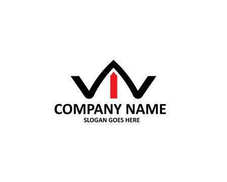 wi letter logo