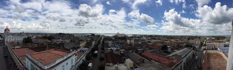 Cienfuegos city view