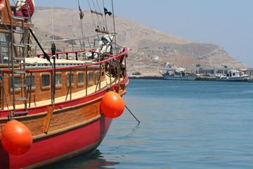 Hafen, Segelboot
