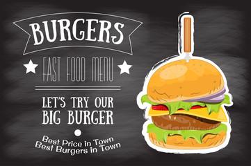 Burger House Menu