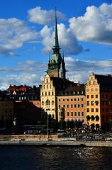 immeuble ancien à Stockholm