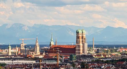 Foto op Plexiglas Panoramafoto s München