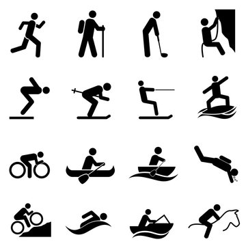 Leisure sports and outdoor activities