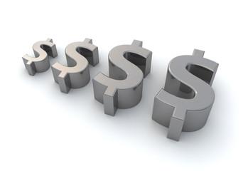 Dollar Symbol Growth