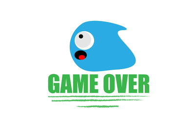 Game Over ghost Icon