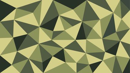soldier polygon pattern
