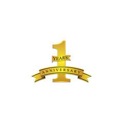 1 anniversary year gold