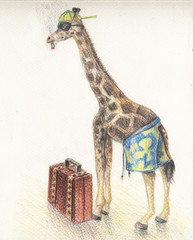 giraffe on vocation
