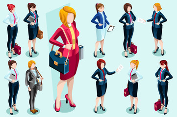 Isometric People Vector People Images